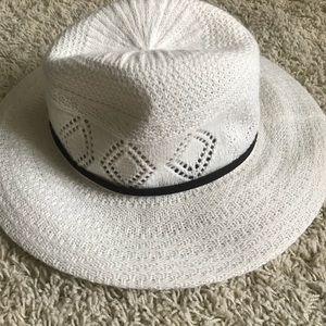 White Floppy Hat NWT